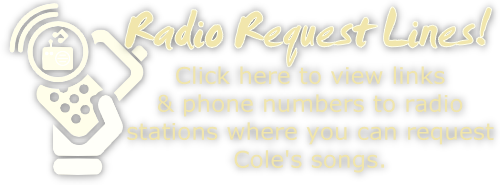 Radio Request Lines - Request Cole Degges